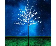 LED-Baum Garten Stehleuchte 180cm 200 LED warmweiss