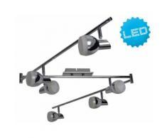 LED Deckenbogen Deckenschiene Chromey Deckenlampe Chrom 1166942