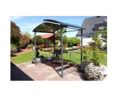 Leco Profi Grillpavillon Pavillon Garten Terrasse Grill Überdachung Windschutz