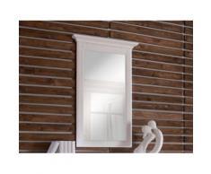 Wandspiegel Cassa 70x110x8 cm Pinie weiß Spiegel Schlafzimmer