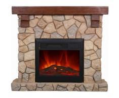 EL Fuego Elektrokamin Villach Ay623 Heizung Ofen Kamin 1500 Watt mit FB NEU