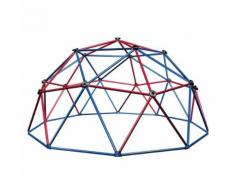 Lifetime Outdoor Kinder Kuppel-Klettergerüst Geodome rot/blau, 101301
