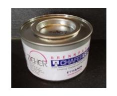 Brennpaste FÜR Chafing Dishes 72 x 200g Dosen/Ktn. FÜR Fondue Heisser Stein Ethanolpaste Ethanol