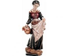 Heilige Elisabeth mit Krug Holzfigur geschnitzt Südtirol Schutzpatronin