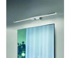 Braga Illuminazione Moderne Spiegel- oder Bilderleuchte - inklusive LED-Platine 18 Watt - mit Blattg