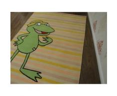 Kinderteppich- Quaker, der Großmaul frosch 200 x 150 cm Gustav und seine Freunde