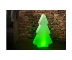 Luminatos 801 LED Leucht Weihnachtsbaum 82cm 16 Farben mit Fernbedienung wasserdicht