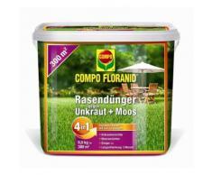 Compo Floranid® Rasendünger gegen Unkraut Moos 4in1 - 9 kg