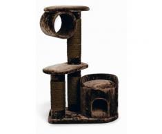 Kratzbaum Kratzturm Kletterturm für Katzen mit Sisal Stamm 75x45x118cm *neu*