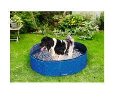 Doggy Pool für Hundepool Planschbecken Schwimmbecken Schwimmbad Wasserbecken 120x30cm