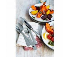 Jamie Oliver Modern Classic Besteckset, 24-tlg., Besteckset, Messer, Gabel, Löffel, Edelstahl, 55519