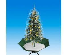 PVC Weihnachtsbaum mit Schnee, Lichtern und Musik 100x175 cm Ständer NEU 61201