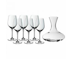 WMF Wein-Set (Dekanter inkl. 6 Gläser) 0946409999