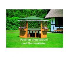 Pavillon Marburg mit oder ohne Möbel Holzpavillon