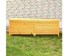 Kissenbox Auflagenbox Gartentruhe Gartenbox Truhe Holz Holztruhe Kissentruhe
