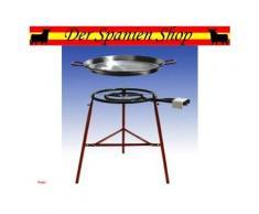 "Paella Set ""huelva"" Brenner 50cm & Pfanne 65cm Gasgrill"