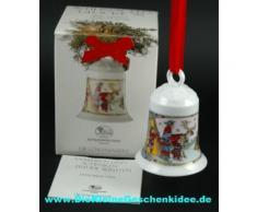 Hutschenreuther Porzellan Weihnachtsglocke 1995*Rarität
