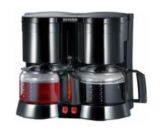 Severin Duo-Kaffeemaschine KA 5802, 2 x 750 Watt, schwarz