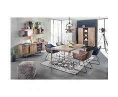 Sit Möbel This & That Sitzwürfel Chenille B 45 x T 45 x H 45 cm grau/schwarz gemust...