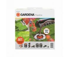 Gardena 8255-20 Sprinklersystem StartSet Pipeline mit 2 Wasserstellen