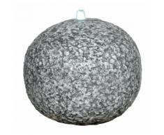 LED Brunnen anthrazit grau