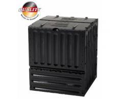 Eco King Komposter 400 Liter, schwarz