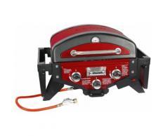 EL Fuego Ay5262 Gasgrill Tischgrill Medison rot Grill BBQ Tischgasgrill NEU