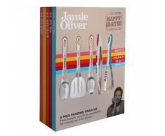Jamie Oliver - 5 teiliges Küchenset Jb8812 Küchenhelfer Wender Servierlöffel ...