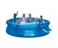Swimmingpool großer Swimming Pool 305 x 76 cm Zubehör