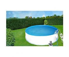 Pool Set A Swimmingpool, 350cm x 135cm,Aufstell Schwimmbecken,Stahlwand, Rundform Folienstärke 0,8mm