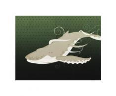 350x270 cm Fototapete Unterwasser|Kreatur