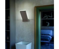 Braga Illuminazione Moderne LED-Wandleuchte - Wandfluter - inklusive LED-Platine 16 Watt - mit Blatt