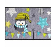 Salonloewe Fußmatte waschbar Garland Owl 50x75 cm Sld1407-050X075