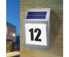 Solar-Hausnummernleuchte Style