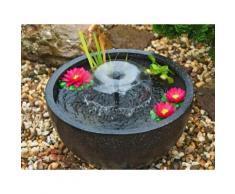 Ubbink Wasserfall Gartenbrunnen Zierbrunnen Wasserspiel Springbrunnen Mini-Teichset 1 mit Pumpe und