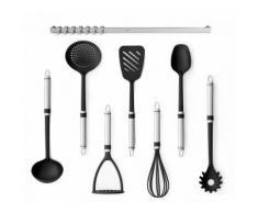 Küchenhelfer-Set Profile mit Wandschiene 8-tlg.