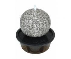 Brunnen LED anthrazit grau