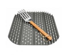 GrillGrate Kit Set 4 34,92 cm Grillplatten Grillrost Grill Grillgitter Grillplatte Big Green Egg XL