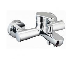 Bad Armatur, Badewanne, Einhandmischer, Eco-Klick-Funktion, verchromt, Sola