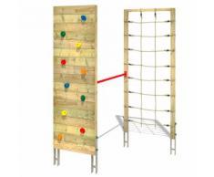 Klettergerüst Smart Combo – Kletterwand