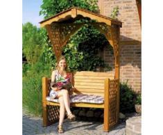 Gartenlaube Starnberg Sitzbank