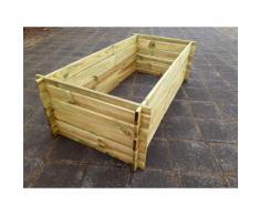 Komposter-Kompostbehaelter-Hochbeet-170-x-85x 52 cm 19 mm Stabil