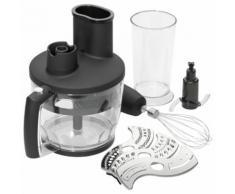 750 Watt Stabmixset Edelstahl Stabmixer Mixer Schneebesen Zerkleiner Mini-Küchenmaschine Bomann SMS