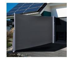 Windschutz Sichtschutz ausziehbar Terrasse Sichtschutzzaun Sichtschutzmatte Seitenmarkiese