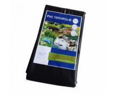 Teichfolie PVC 8m x 6m 0,5mm schwarz Folie für den Gartenteich