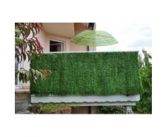 Sichtschutz Windschutz Verkleidung für Balkon Terrasse Zaun ~ Tanne breit 300 x 150 cm