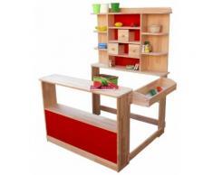Kaufladen aus Holz für Kinder