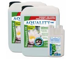 Aquality Algenvernichter Gartenteich Komplett-Sparset 10.000