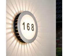 Hausnummernleuchte LED Sun 5,6W Ip44 spritzwassergeschützt 160lm Ip44