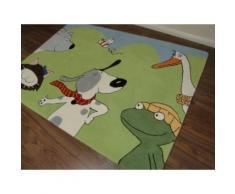 Kinderteppich- Gustav und seine freunde 200 x 140 cm,